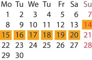 Kalender - IS2020